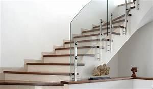 Treppengeländer Mit Glas : treppengel nder holz selbstmontage ~ Markanthonyermac.com Haus und Dekorationen