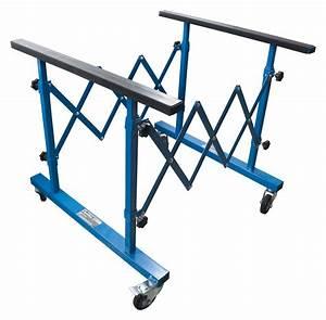 Tréteaux Pour Table : chevalet treteaux table multifonctions reglable pour pare brise ~ Melissatoandfro.com Idées de Décoration
