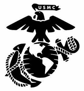 amazoncom united states marine corps usmc eagle globe With kitchen colors with white cabinets with marine corps sticker