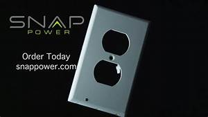 Outlet Cover Night Light Snaprays Guide Light Youtube