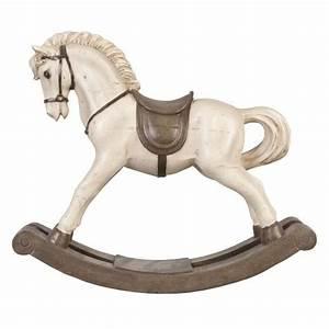 Cheval A Bascule : cheval bascule neuf decoration 40x34cm cadeau original achat vente statue statuette ~ Teatrodelosmanantiales.com Idées de Décoration