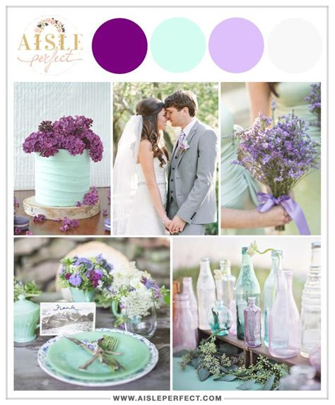 Four Unexpected Wedding Color Schemes That Work Wedding