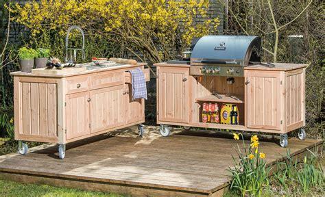 Entzuckend Outdoor Kuche Holz Design by Outdoor K 252 Che Holz Wohndesign Und Innenraum Ideen