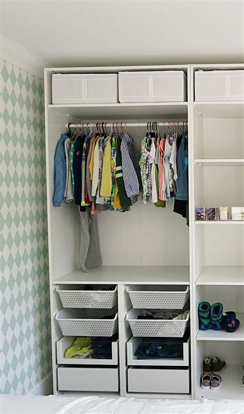 Organising My Girls Wardrobes Ikea Pax System {home