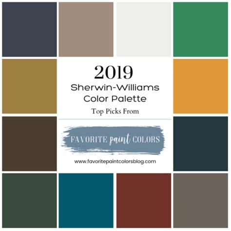 favorite 2019 sherwin williams paint colors favorite