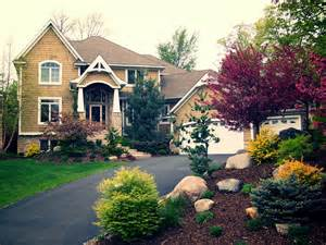 Trees and Shrubs Front Yard Landscaping