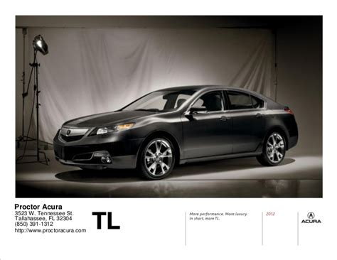 2012 acura tl for sale in tallahassee fl proctor acura