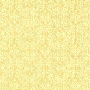 Papel de Parede Classique Florais Amarelo 2828