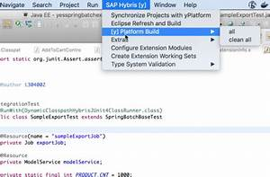 SAP Hybris merce Development Tools for Eclipse