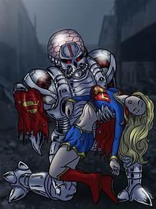 Supergirl defeated by Brainiac by cuttlesquid on DeviantArt
