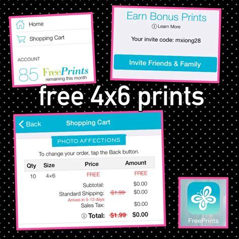 code promo livraison free prints 2017