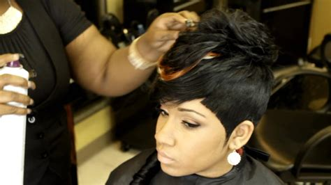 Short Quick Weaves Black Hair  Hairstyle For Women & Man