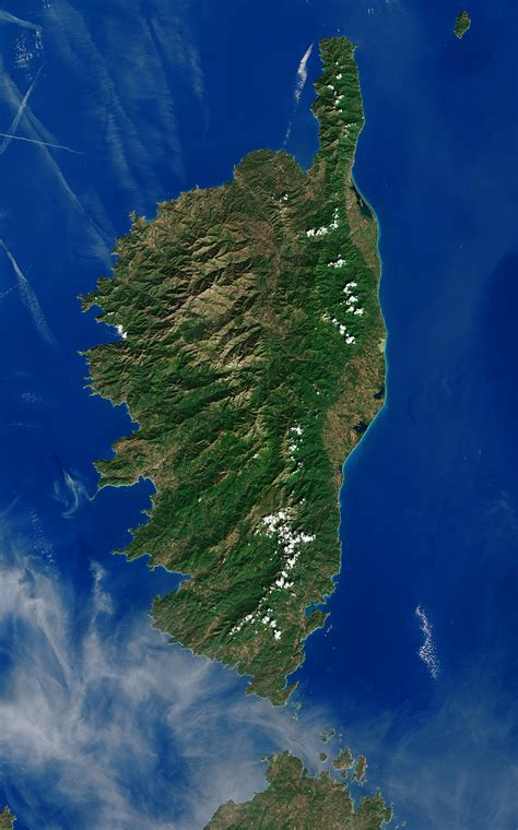 space  images   corsica