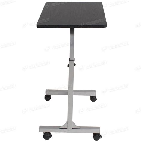 stand up computer desk on wheels ebay