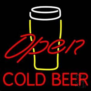 1000 images about Cold Beer Open Neon Signs on Pinterest