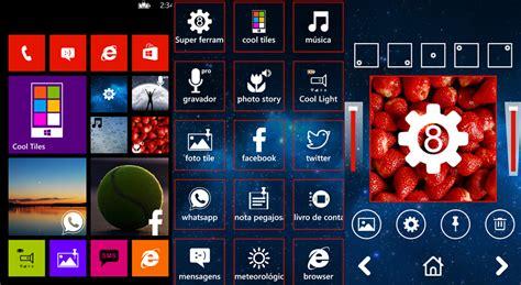 Cool Tiles  Personalizador De Tiles Para Windows Phone 8