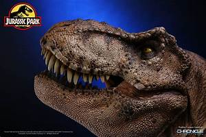 Chronicle Collectibles Jurassic Park T-Rex 1/5 Scale Bust ...