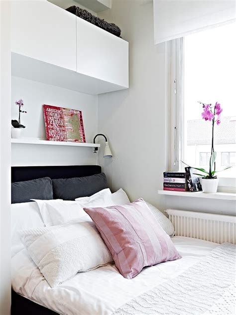 above the bed storage 50 small bedroom ideas that give a mega look