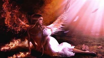 Angel Fallen Wallpapers 3d Demon Desktop Background
