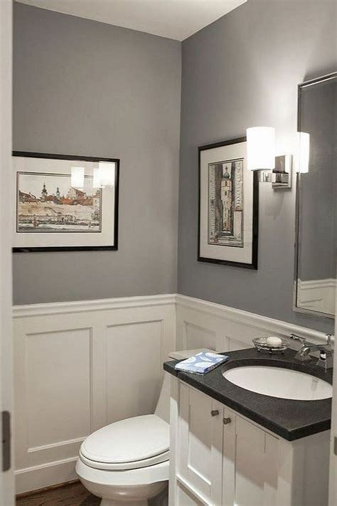 Graues Bad by Best 25 Tiny Powder Rooms Ideas On Toilet