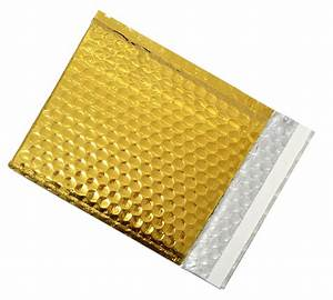 coloured bubble envelopes gold packaging2buy With gold letter envelopes