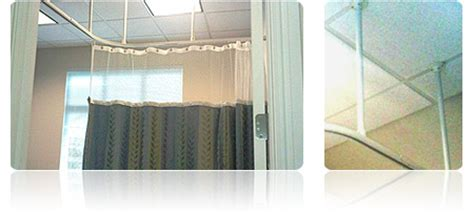 cubicle curtain track hardware hospital curtain tracks