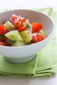 Marinated Cucumber Tomato Salad