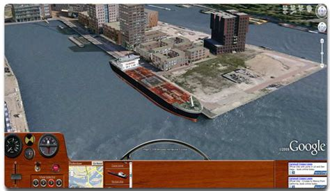 Boat Driving Simulator Free Online by Google Earth Vehicle Simulators 171 Google Earth Library