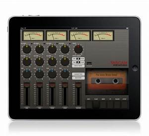 New App Turns Ipad Into Tascam Portastudio Audio Recorder
