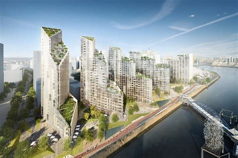 Mace tops out at Greenwich Peninsula's Upper Riverside