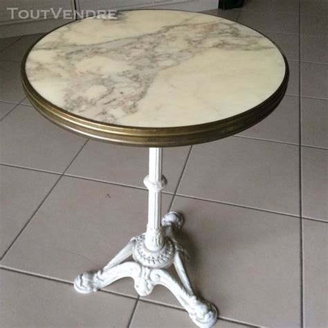 table bistrot marbre pied clasf