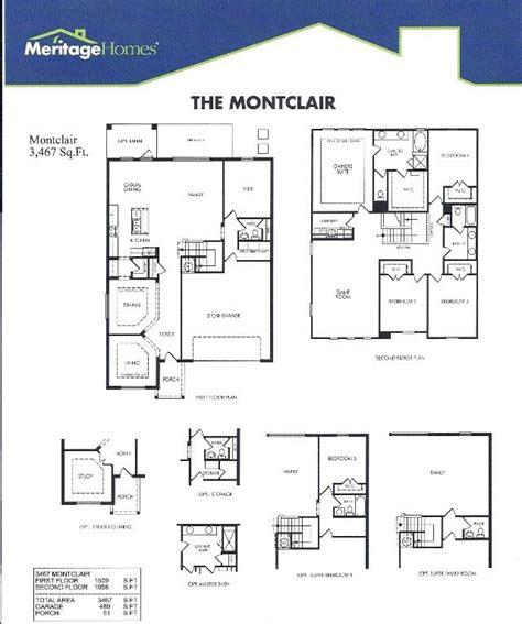 meritage homes floor plans  home plans design