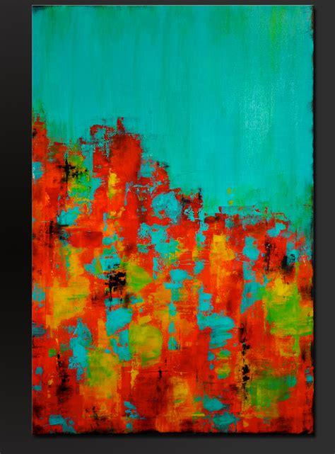 22x28 frame carousel 15 36 x 24 abstract acrylic painting on canvas