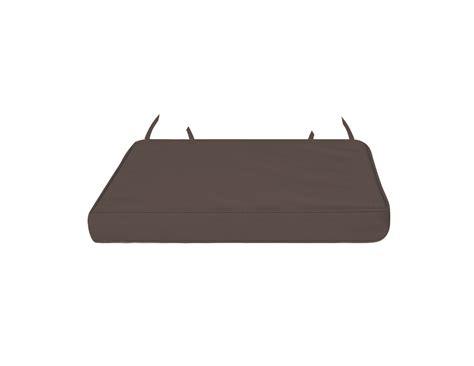 galette de chaise déhoussable galette de chaise déhoussable et imperméable chocolat