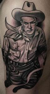 Cowboy Tattoos Designs, Ideas and Meaning | Tattoos For You