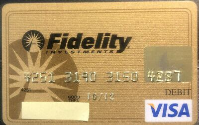 We did not find results for: Gold Fidelity Investments VISA credit card - expired 2012 | eBay