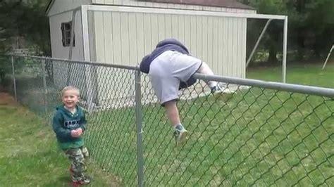 Jeffs Kids Climbing On Fencesat Apr 25,2015 Youtube