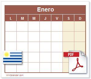 calendario    dias feriados uruguay