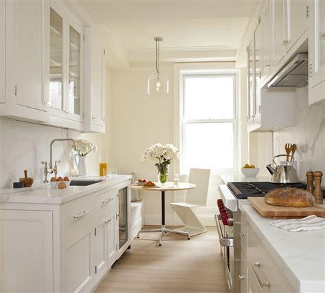 Kitchen Galley Kitchen Ideas For Small Kitchen With White