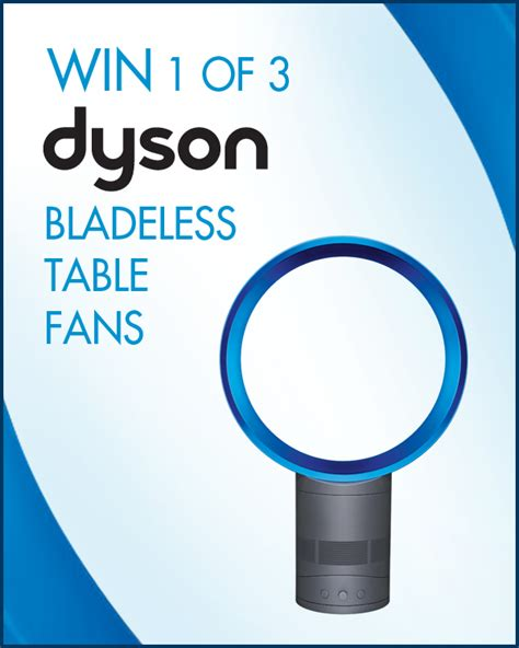 Bladeless Table Fan by 0807 Dyson
