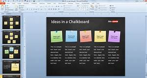 chalkboard powerpoint templates free download - free concept idea presentation template for powerpoint
