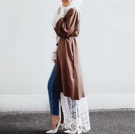long open cardigans hijab style  trendy girls