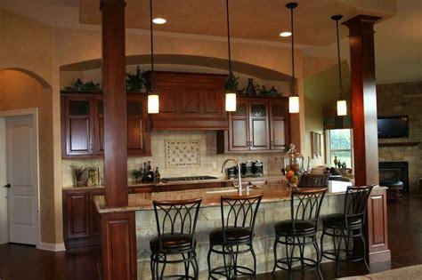 kitchen islands with pillars   kitchen island with columns