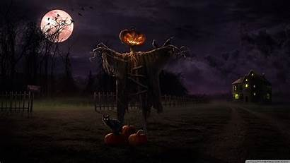 Halloween Desktop Wallpapers Spooky Widescreen Wide Path