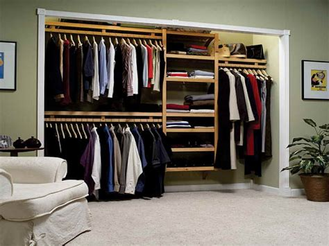 ideas wood closet organizing systems with white sofa