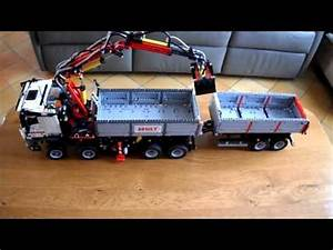 Lego Technic Camion : lego technic 42043 youtube ~ Nature-et-papiers.com Idées de Décoration