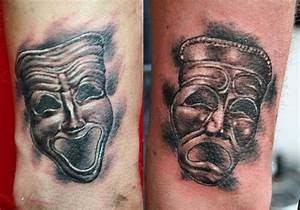 16 best images about Comedy Tragedy Tattoos on Pinterest ...