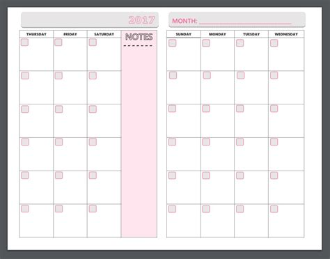 printable planner pages zone