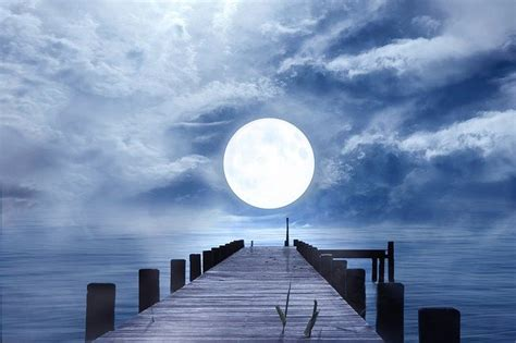 good night full moon moonlight  photo  pixabay