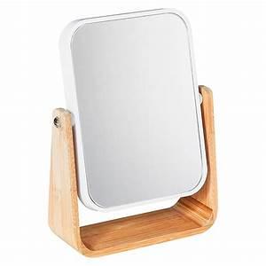 Spiegel Zum Hinstellen : venus kosmetikspiegel palma 16 2 x 22 cm wei bambus ~ Michelbontemps.com Haus und Dekorationen